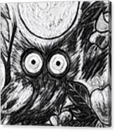Owl Midnight Canvas Print
