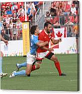 Pamam Games Men's Rugby 7's Canvas Print