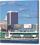 Panoramic View Of Atlantic City, New Jersey Canvas Print
