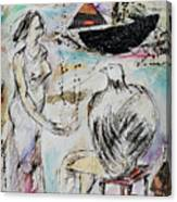 Panting Canvas Print