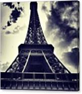 #paris Canvas Print