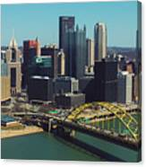 Pittsburg Skyline Canvas Print