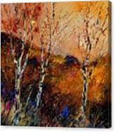 3 Poplars Canvas Print