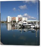 Port Canaveral Florida Usa Canvas Print