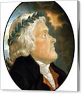President Thomas Jefferson - Two Canvas Print