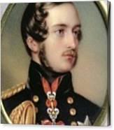 Prince Albert Henry Pierce Bone Canvas Print