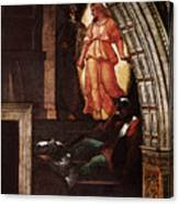 Raphael The Liberation Of St Peter  Canvas Print