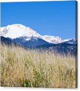 Red Rock Canyon Open Space Park Canvas Print