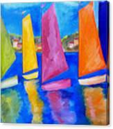 Reflections Of Tortola Canvas Print