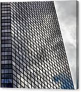 Reflective Glass And Metal Building Canvas Print