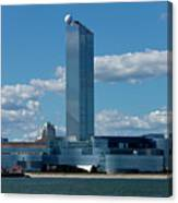 Revel Casino In Atlantic City, New Jersey Canvas Print