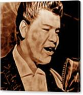 Ritchie Valens Collection Canvas Print
