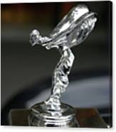 Rolls Royce Hood Ornament Canvas Print