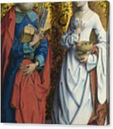 Saints Peter And Dorothy Canvas Print