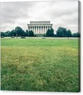 Scenes Around Lincoln Memorial Washington Dc Canvas Print