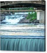 Scenes Around Spokane Washington Downtown Canvas Print