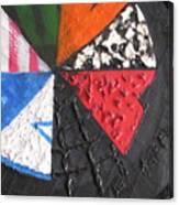 Second Lebanon War - Fragment Canvas Print