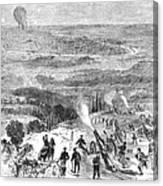 Siege Of Paris, 1870 Canvas Print