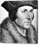 Sir Thomas More (1478-1535) Canvas Print