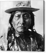 Sitting Bull (1834-1890) Canvas Print