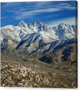 Snowy Four Peaks Arizona Canvas Print