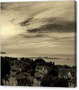 Sopot Poland At Sunrise Canvas Print
