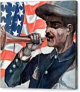 Spanish-american War, 1898 Canvas Print
