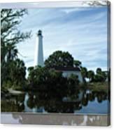 St Mark's Lighthouse Canvas Print