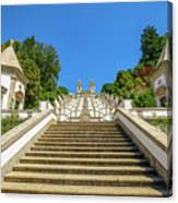 Staircase Of Bom Jesus Do Monte Canvas Print