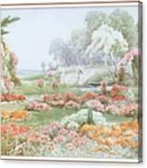 Stannardhenryjohnsylvester Asummersafternoon-we F074 Henry  Sylvester Stannard Canvas Print