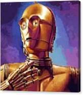 Star Wars Episode 2 Art Canvas Print