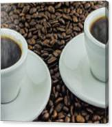 Steaming Coffee  Canvas Print