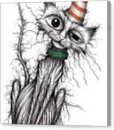 Stinker The Cat Canvas Print