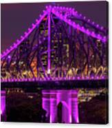 Story Bridge In Brisbane, Queensland Canvas Print