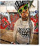 Street Phenomenon Lil Wayne Canvas Print