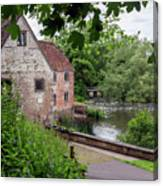 Sturminster Newton Mill - England 3 Canvas Print