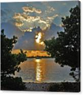3- Sunrise Cruise Canvas Print