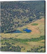 Superb Landscape In Rocky Mountain National Park Canvas Print