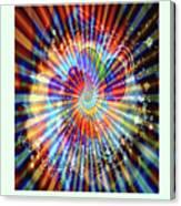 Supernova Of Love Canvas Print