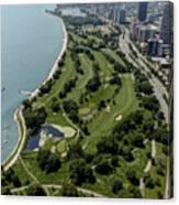Sydney R. Marovitz Golf Course  Canvas Print