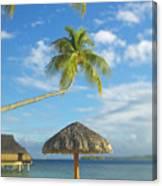 Tahiti, Bora Bora Canvas Print