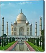 Taj Mahal Canvas Print