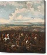The Battle Of Oudenaarde Canvas Print