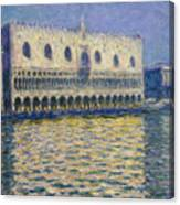 The Doges Palace Canvas Print