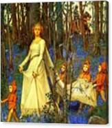 The Fairy Wood Henry Meynell Rheam Canvas Print