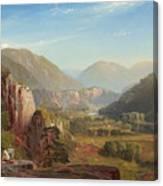 The Juniata, Evening Canvas Print