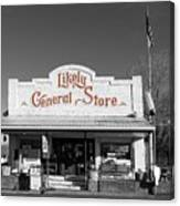 The Likely General Store - California  Canvas Print