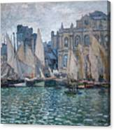 The Museum At Le Havre Canvas Print