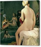 The Small Bather Canvas Print