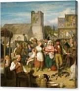 The Statute Fair Canvas Print